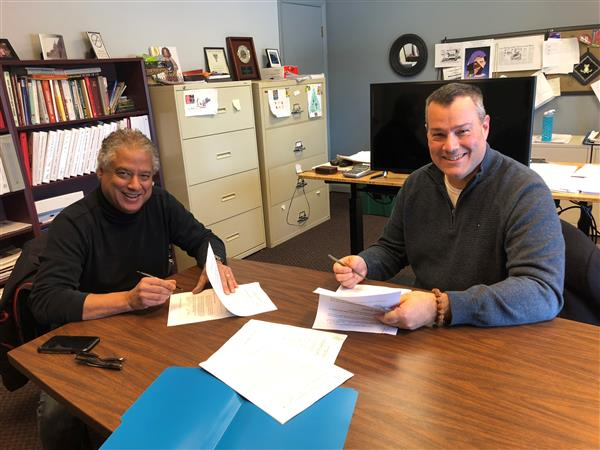 Next Masco Superintendent Dr. Michael Harvey Signs Contract